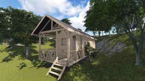 chambre commerce plan cabane en bois plans de construction a telecharger