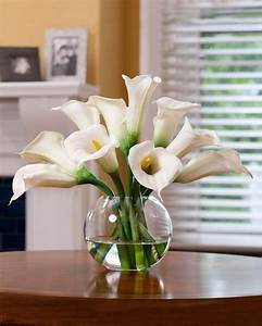 Buy Calla Lily Silk Flower Centerpiece at Petals