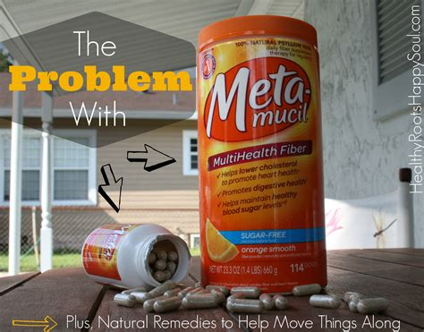 Naturally Loriel The Problem With Metamucil Plus