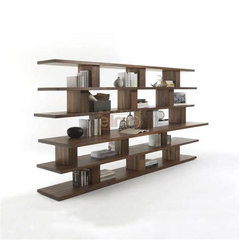 destockage cuisine bibliothèque moderne ouverte plan en saillie 100 bois