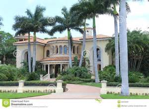 building plans homes free mansion in ta florida royalty free stock photography