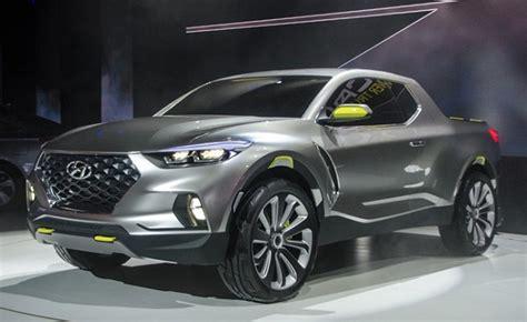 hyundai truck 2020 2020 hyundai santa news design release truck release