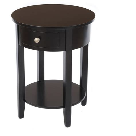 black end tables with storage end tables with drawers decofurnish