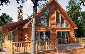 Maison Rondin Bois : maison en bois massif cmbm ~ Melissatoandfro.com Idées de Décoration