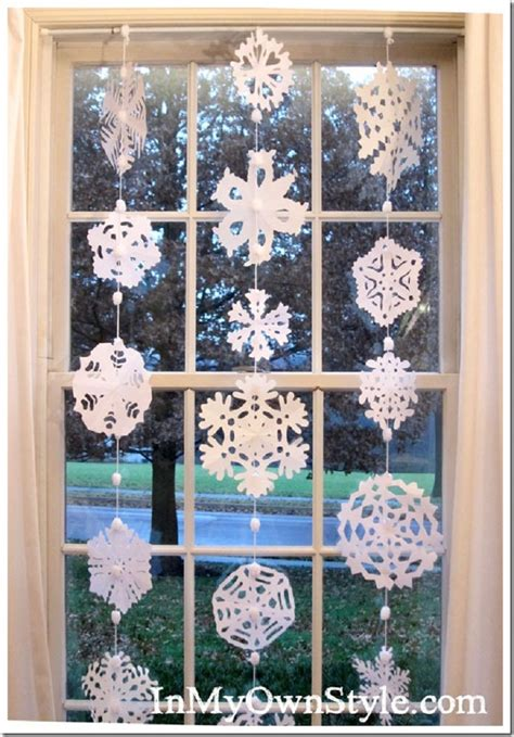 winter inspired paper crafts    holiday season