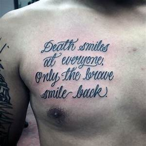 50 Chest Quote ... Chest Tattoo Love Quotes