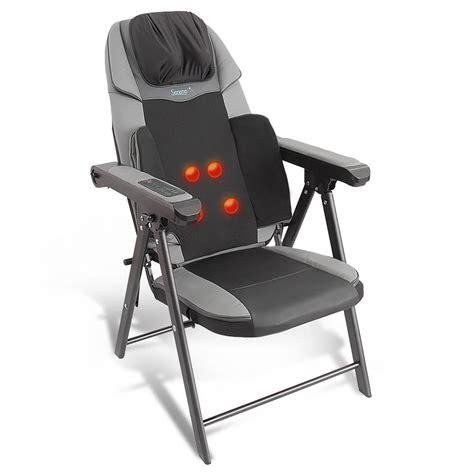 SereneLife SLMSGCH20 - Folding Massage Chair - Portable