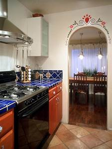 guide to creating a southwestern kitchen diy kitchen With kitchen colors with white cabinets with southwest metal wall art