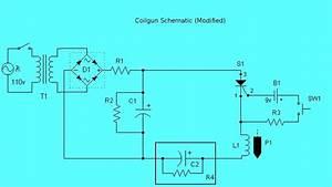 Experimental Coilgun  Circuit