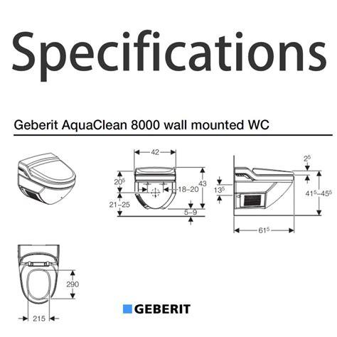 Pivot Bathroom Mirrors Uk by Geberit Aquaclean 8000 Bidet Toilet Uk Bathrooms