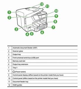 Solved  Hp Officejet 8600 Plus Main Paper Tray Stuck
