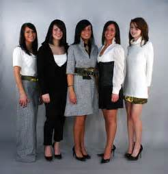 Business Professional Clothes Young Women