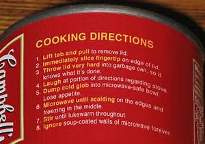 Campbell U0026 39 S Soup Directions