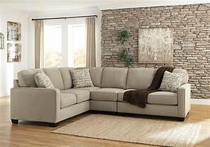 alenya quartz 3pc laf sofa sectional lexington With alenya sectional sofa in quartz