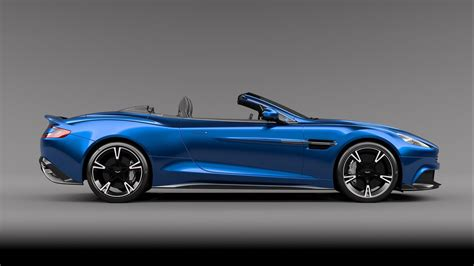 aston martin 2017 aston martin vanquish s volante gets updated 600 hp