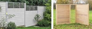 Holz Im Garten : sichtschutz premium holz im garten ~ Frokenaadalensverden.com Haus und Dekorationen