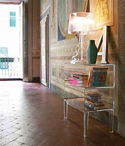 small ghost buster night stands from kartell architonic With table de chevet kartell