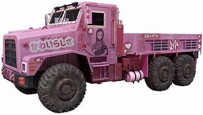 Senpai Warfare Truck Cod Loot Warzone Skin