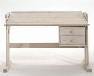 Schreibtisch Kinder Höhenverstellbar : schreibtisch wei verstellbar massiv kiefer m bel pc tisch ~ Lateststills.com Haus und Dekorationen