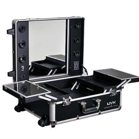 train case with lights nyx makeup artist train case with lights x large