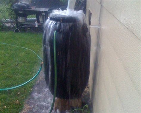residential rainwater collection system installation