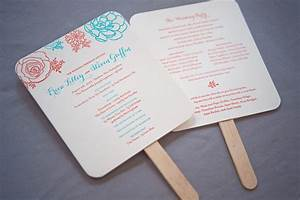 wedding ceremony program fans ceremony ideas With fans for a wedding ceremony