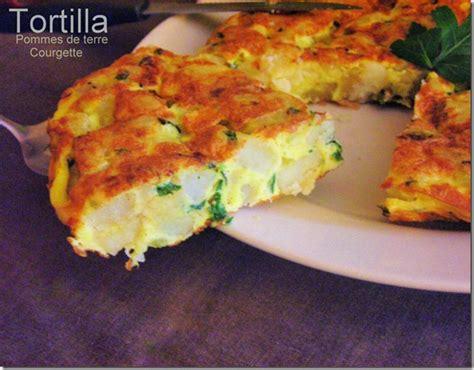 tortilla aux courgettes pommes de terre le blog