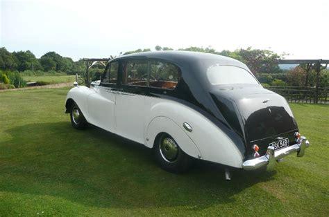 Classic Wedding Car In Robertsbridge