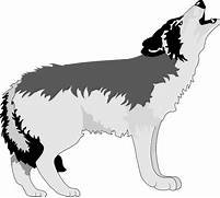 Howling Wolf Png