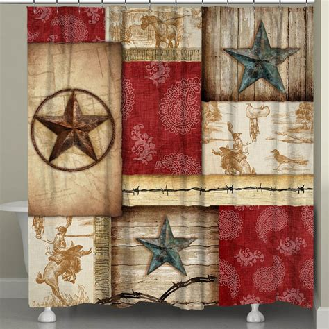 Cowboy Caravan Shower Curtain