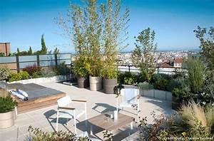 Aménagement Toit Terrasse : comment am nager un toit terrasse conseils d 39 experts d tente jardin ~ Melissatoandfro.com Idées de Décoration