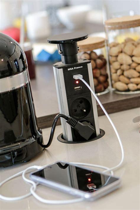 prise electrique encastrable cuisine prise electrique encastrable plan de travail cuisine