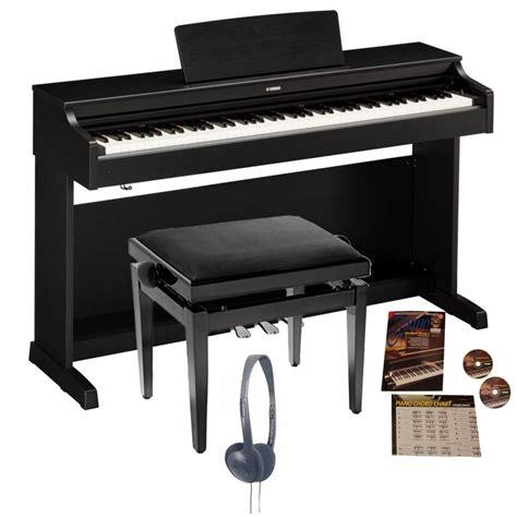 Yamaha Ydp 163 Digital Piano Black Walnut Bundle From Rimmers