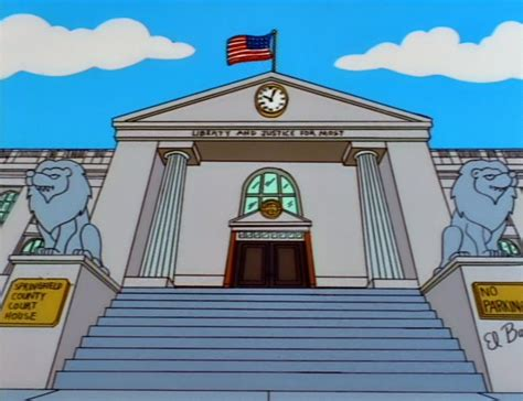 Court House - springfield county court house simpsons wiki fandom