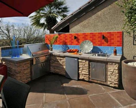 outdoor cuisine outdoor cooking area backyard ideas