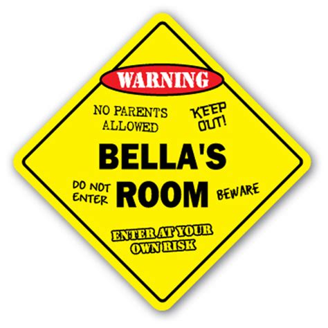 Bella's Room Sign Kids Bedroom Decor Door Children's Name. Eaqual Signs Of Stroke. Late Stage Signs. Family Farm Signs. Boar Signs. Tuberculosis Signs. Safety Driving Signs Of Stroke. Electrical Room Signs. Colon Signs Of Stroke