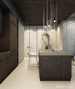 design a chic modern space around a brick accent wall With kitchen cabinet trends 2018 combined with cool office wall art