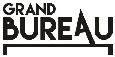 logo le de bureau grand bureau fusion des r 233 seaux r 233 gionaux de musiques actuelles association retour de sc 232 ne