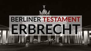 Berliner Testament Beispiel : berliner testament muster mit erl uterung rechtsanwalt erbrecht k ln ~ Orissabook.com Haus und Dekorationen