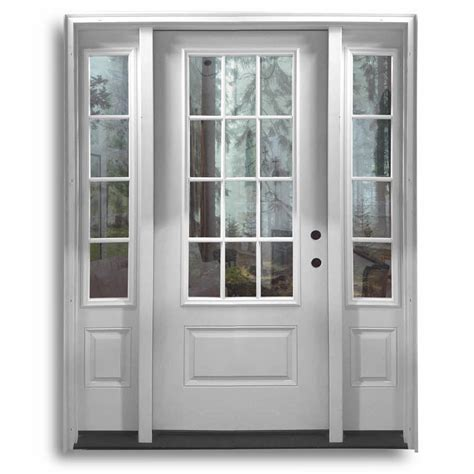 Glass Entry Doors For Home by Fiberglass Exterior Doors Home Surplus