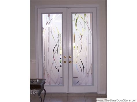 frosted glass pantry door etched glass doors frosted glass doors tropical glass