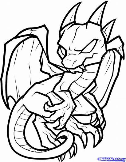 Dragon Coloring Pages Cartoon Christmas