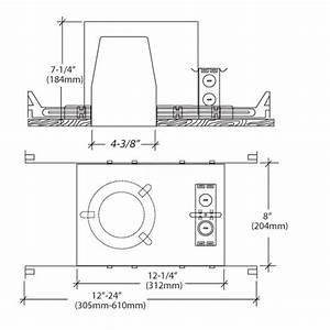 4 U0026quot  Led Recessed Lighting Air Tight Ic Rated Housing