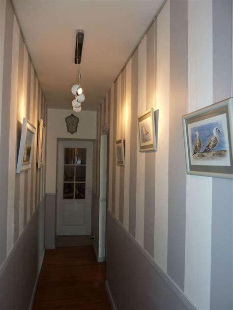 peinture couloir etroit idees deco couloir deco couloir