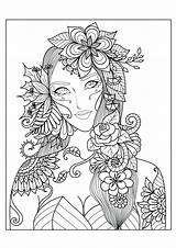 Coloring Pages Complex Animal Printable Print Getcolorings Colorings Adults sketch template