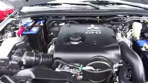2011 Mitsubishi Pajero Sport Start Up  Engine  And In
