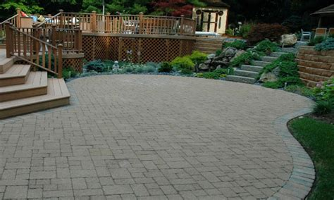 brick paver designs small paver patio design ideas