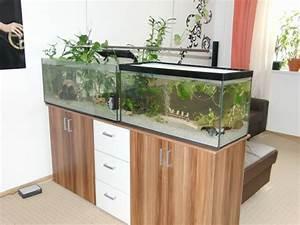 Schrank Als Raumtrenner : aquarium als raumteiler benutzen 26 beispiele ~ Sanjose-hotels-ca.com Haus und Dekorationen