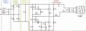 Cfl Ballast Circuit Diagram