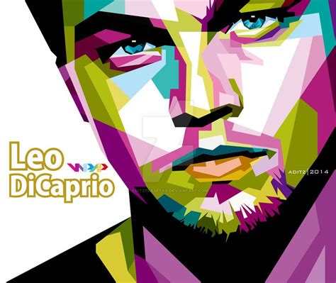 New Wpap Gusdur leonardo dicaprio in wpap by aditzprasetya on deviantart